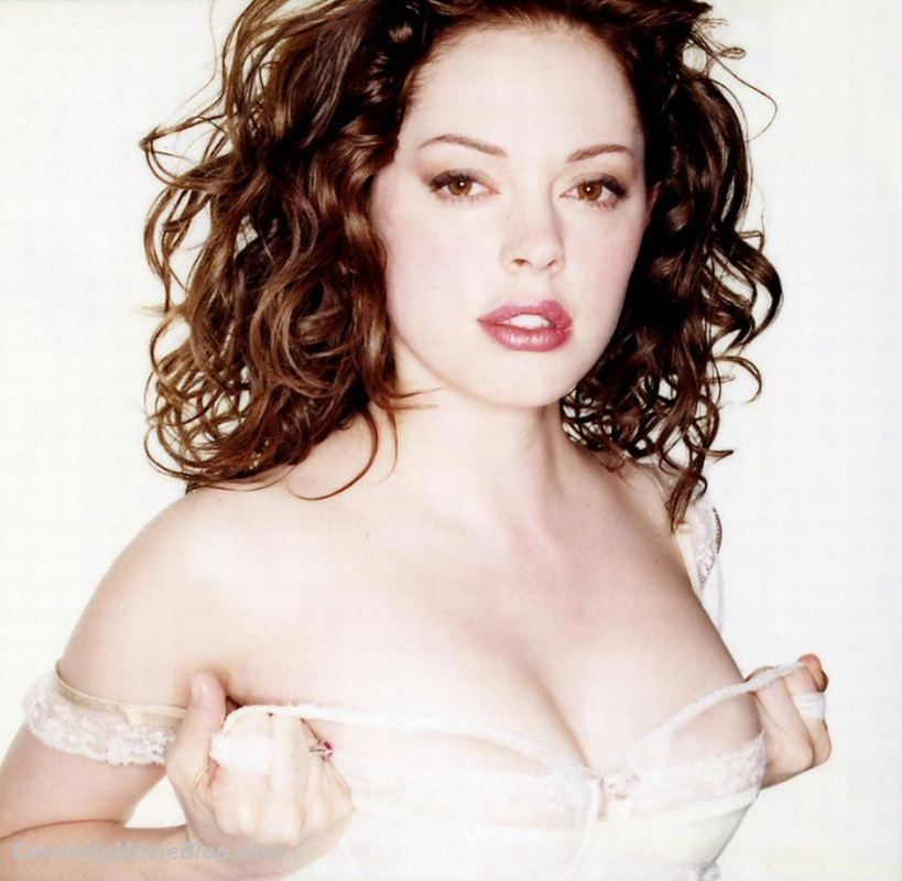 rose mcgowan 017 We all know that sex sells, but this is just ridiculous...you can't even see ...