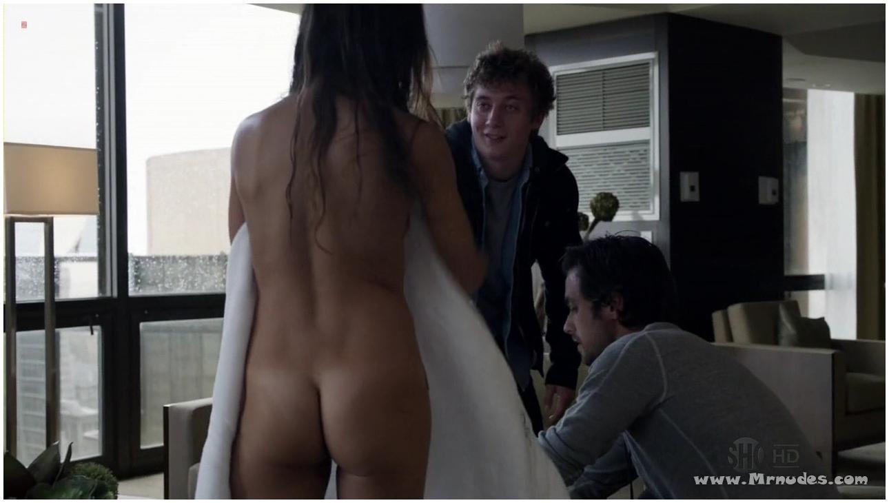 boy touching mature woman