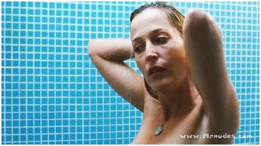 Gillian anderson nude video