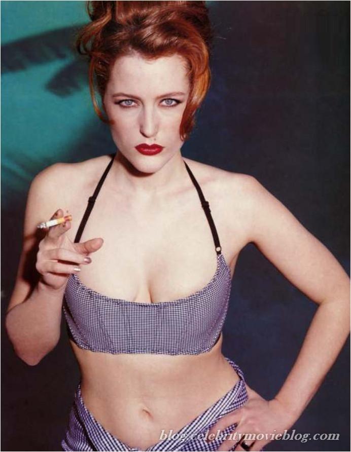 Gillian Anderson - nude celebrity toons @ Sinful Comics Free Membership