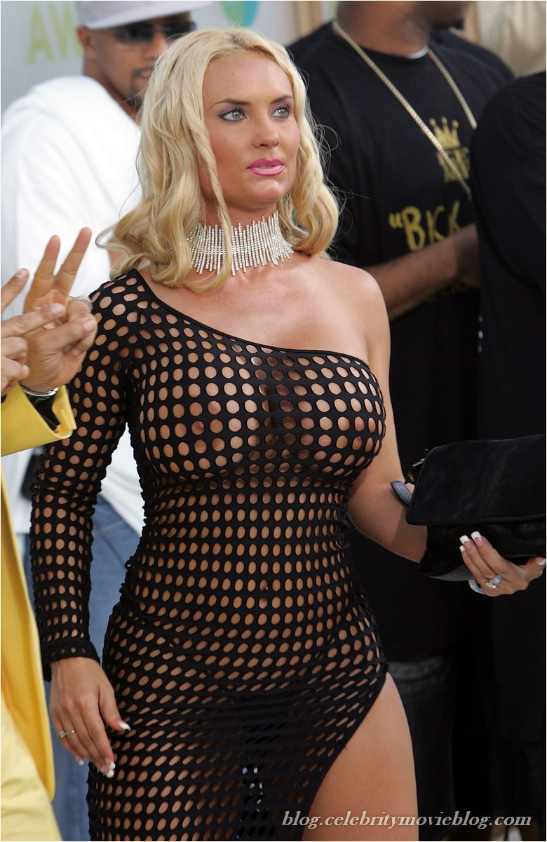 Nicole coco austin see through dress